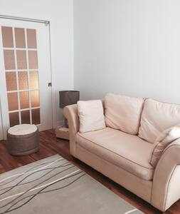 Beautiful double room with private lounge