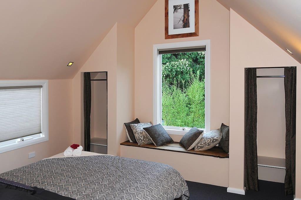 The Gardens Apartment Hobart -  Bedroom