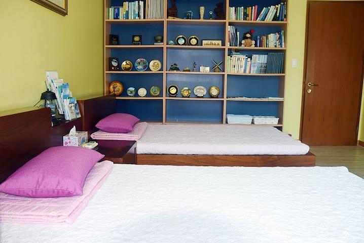 Quiet &enjoy trekking in luxury APT(single bed 2 )