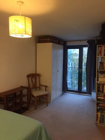 Large double bedroom with wardrobes