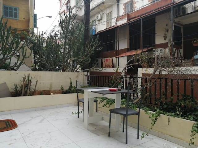 Modern studio with terrace at mar mkhayel g3itawi