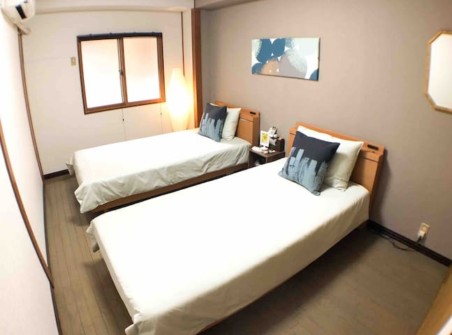 Guesthouse Umeda Room#2 - 5-min walk to Station