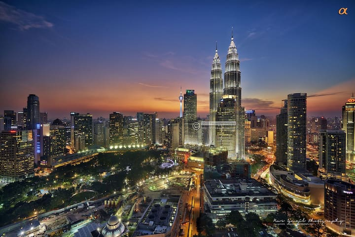 Harmony Suite, Twin Tower View, 6 mins to KLCC