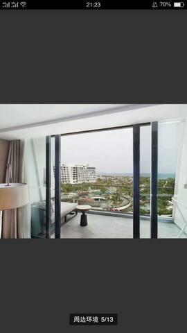 海棠湾威斯汀酒店2月22号入住——2月25号离店。低价转让。