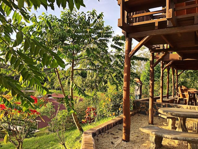 Jacana Cabin, La Vega Estate - Gran Couva - Cabana