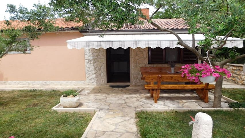 Excellent small stone house for rent /4 persons