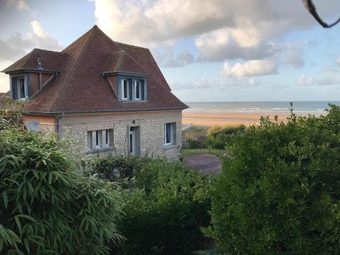 OMAHA BEACH -LES HORTENSIAS - HOUSE ON THE BEACH