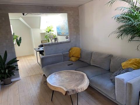 Mooi licht appartement in het centrum van Horsens