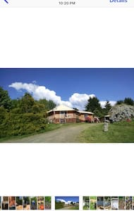 Beautiful Log Home on Hillside - Kalama - Casa