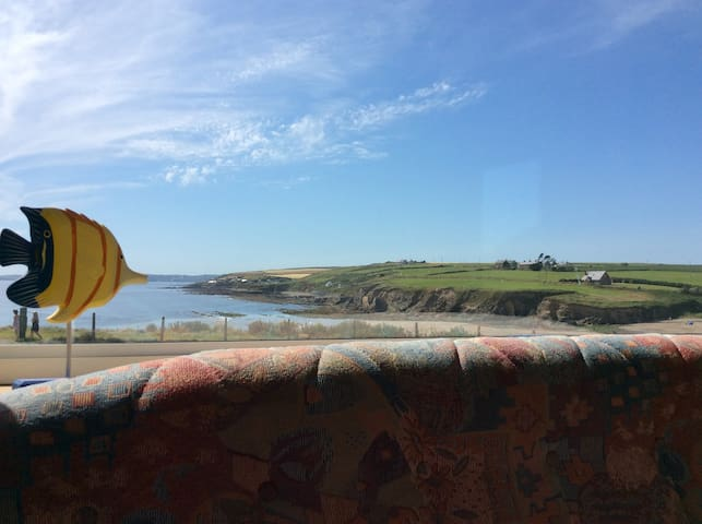 Comfortable mobile-home - panoramic sea vista