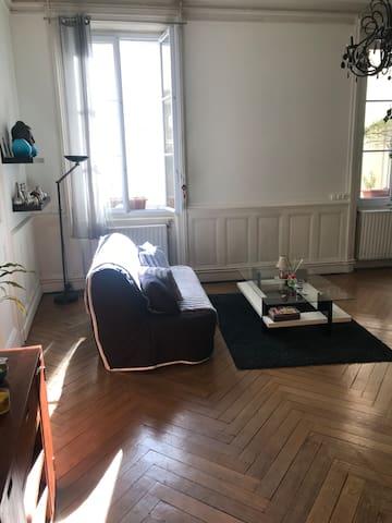 L'appartement du centre ville de Lyon