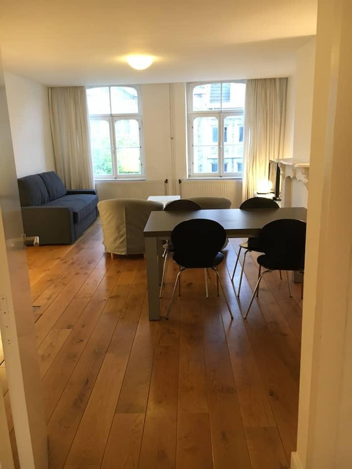 Luxurious spacious apartment in Wyck (center)