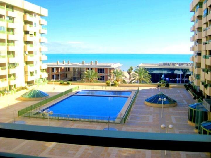 Apartamento en primera linea de la playa Beach II