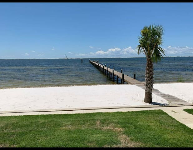 Oceanfront RV site with full hookups