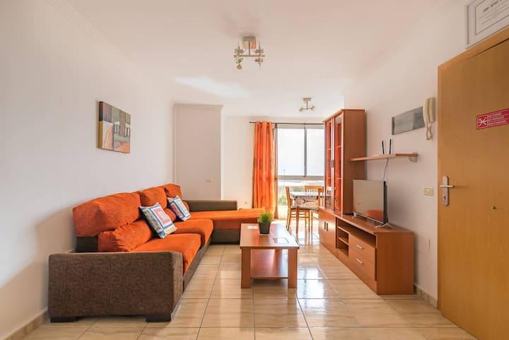 """Acogedor apartamento """"2B Atlántico"""" en el centro de la ciudad con Wi-Fi"""