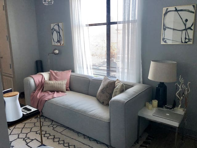 Chic Downtown Studio: Both Relaxing & Near It All