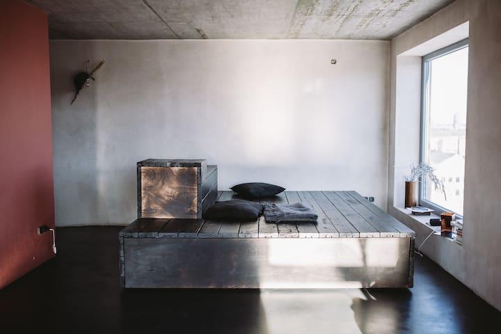 STUNNING VILNIUS 360 VIEW STUDIO APARTMENT - Vilnius - Apartamento
