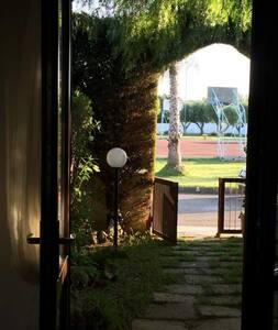 Appartamento 2 camere,giardino EUROGARDEN-San Foca - Haus