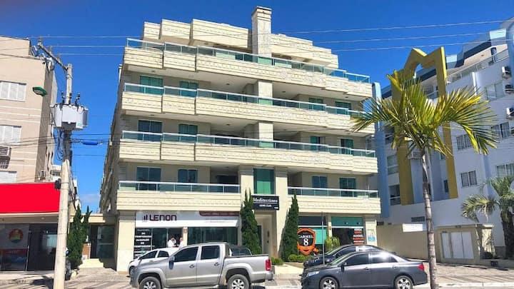 Lindo apartamento na avenida da praia de Bombas