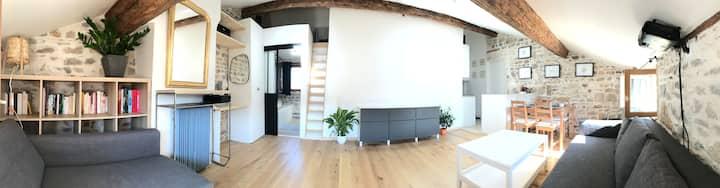 Studio plein centre de Lyon - super vue Fourvière