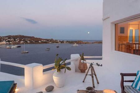 Villa Panoramic Mykonos-5min from NAMMOS!
