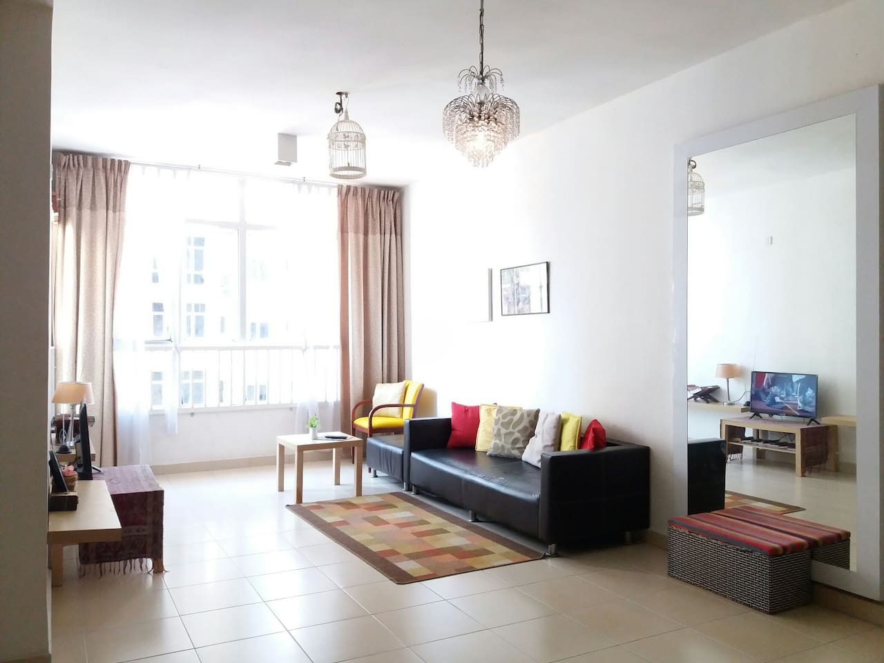 Living Room as photo taken on early Sept 2019