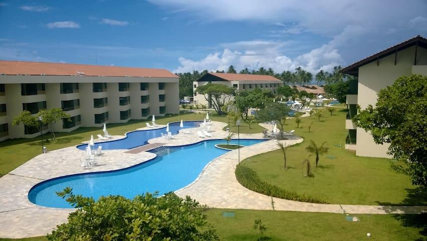 Flat Praia dos Carneiros-Carneiros Beach Resort(2) - Tamandaré - Apartmen perkhidmatan