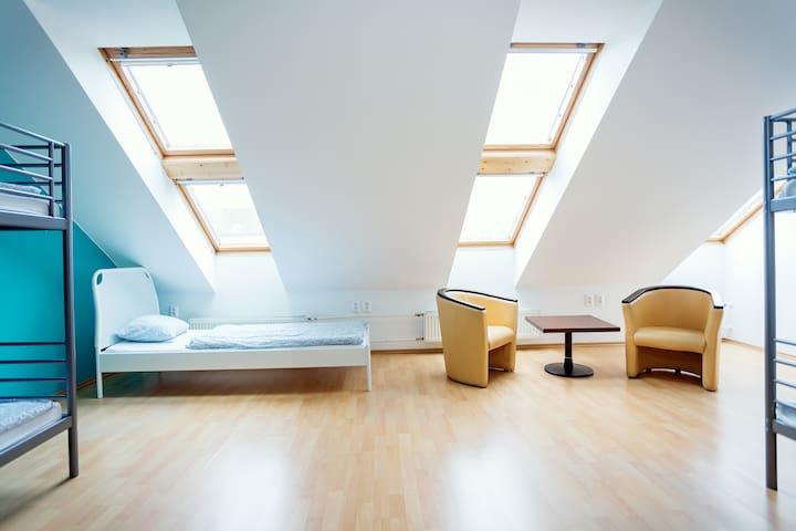 Bed in 6 Bed Ensuite Dorm in Hostel Brickyard