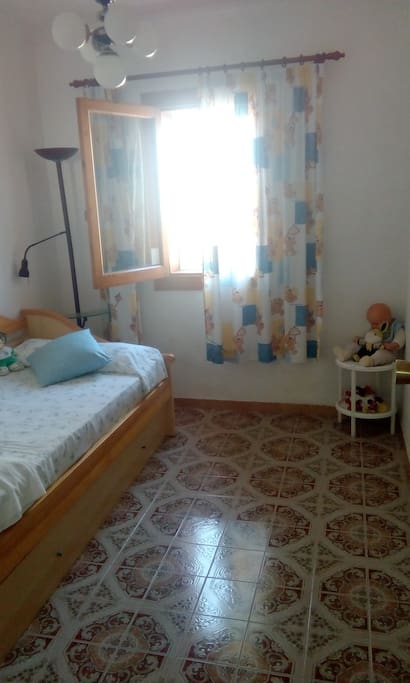 Dormitorio 1, con dos camas individuales
