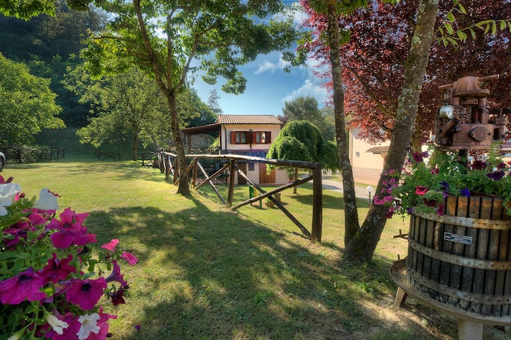House with terrace in Agriturismo. WiFi - Pool