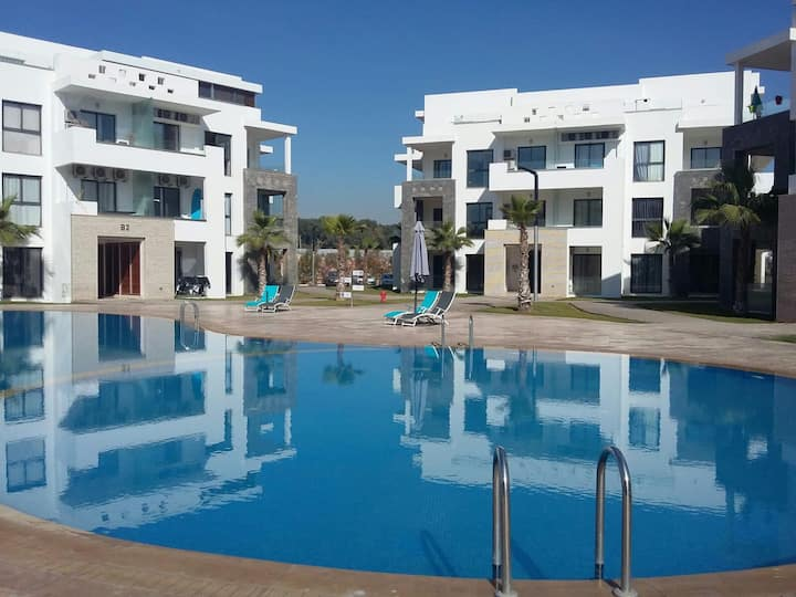 Luxe apt Hivernage Agadir Beach Founty CIty Center