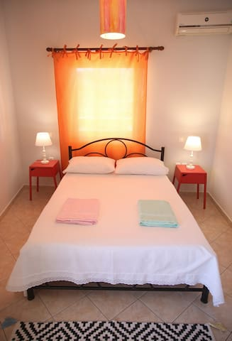 Master bed-room with double bed for 2