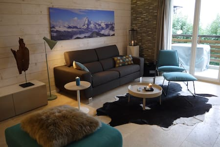 Magnificent Mountain Apartment Crans-Montana