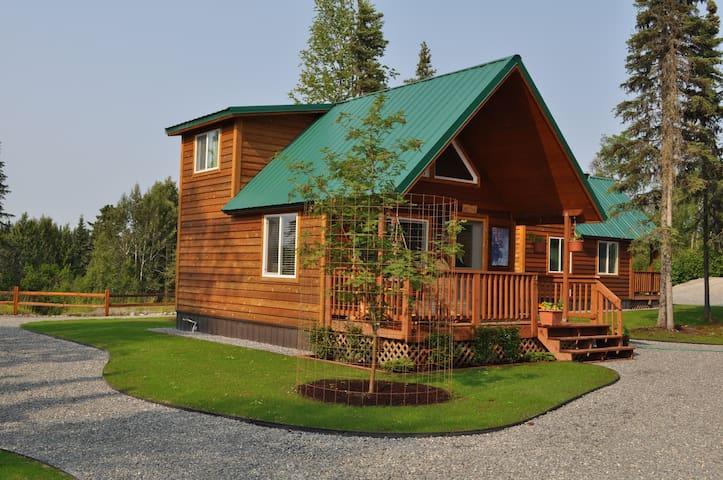 Alaska Kenai River Fishing Cabin # 2 Moose Cabin