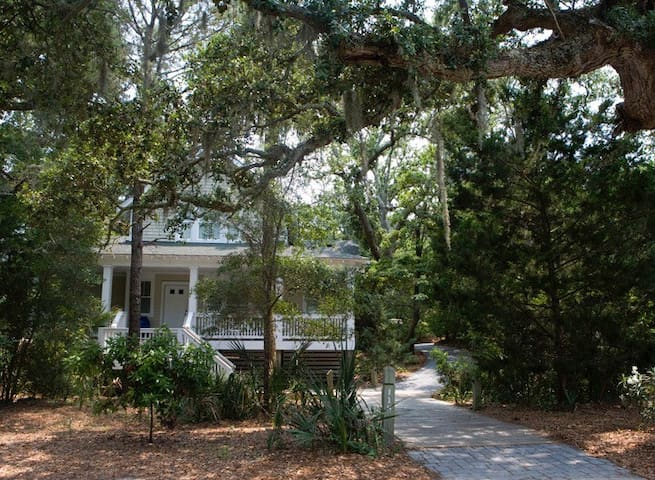 Palm Cottage - Bald Head Island - Hus