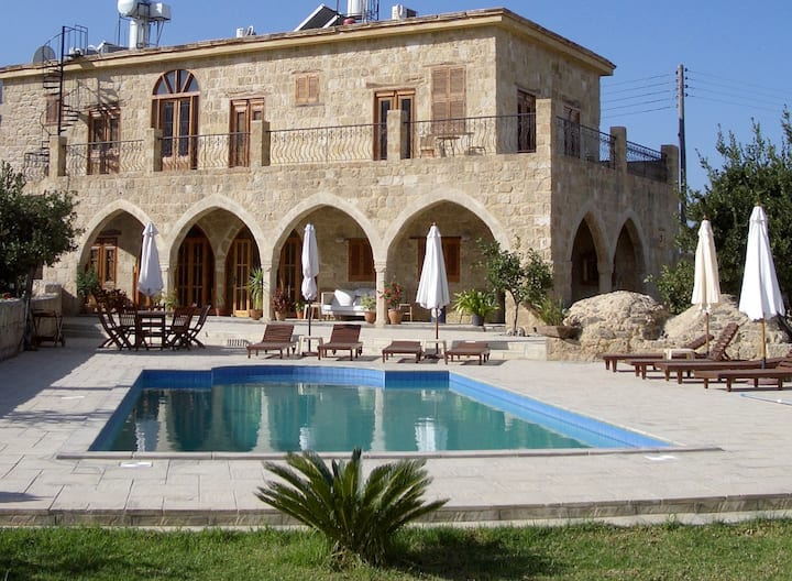 Four Bedroom Stone Village House with Private Pool