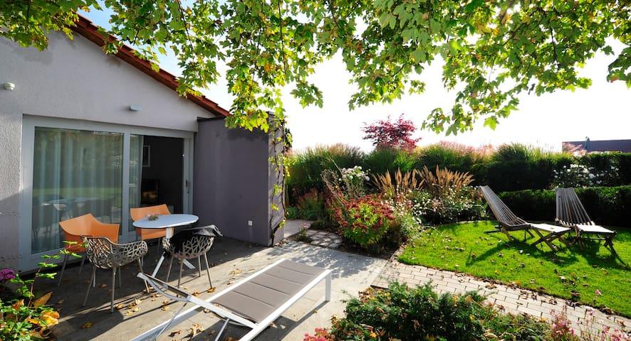 """Ferienhaus Liebesbrunnen, Wohnung """"Paradiesgarten"""""""