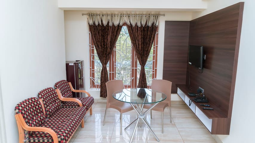 First ever a completely furnished flats in vellore