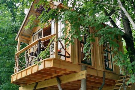 Whispering Wind Treehouse - Argyle