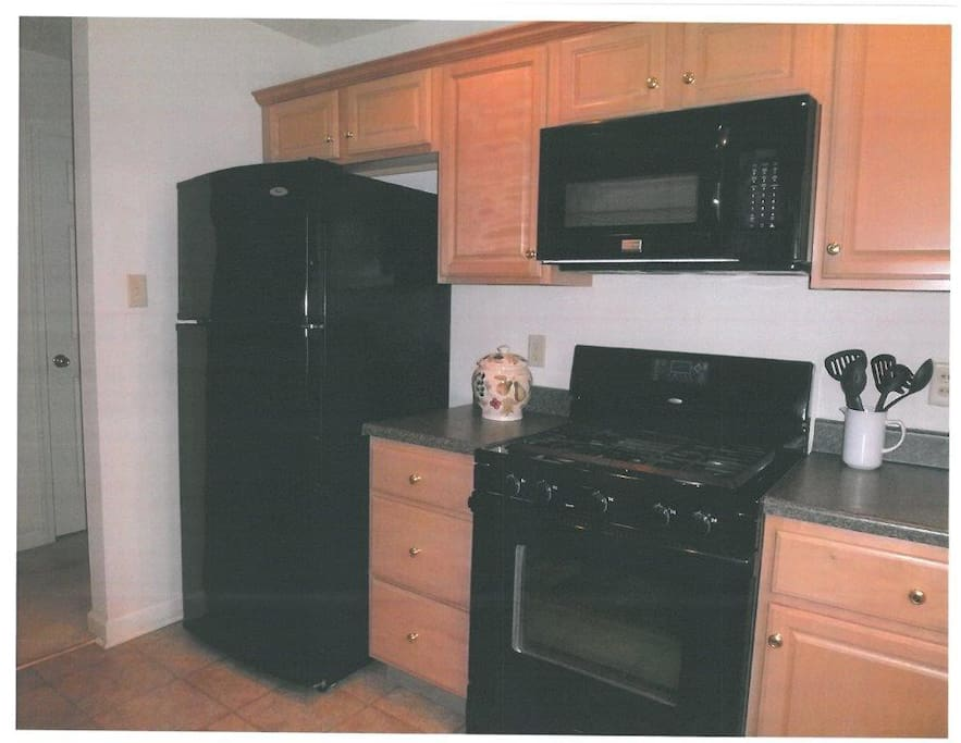 Enjoy a fully equipped kitchen.