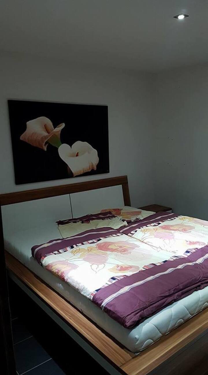 Gemütliches Zimmer, nahe Heidelberg  und Mannheim