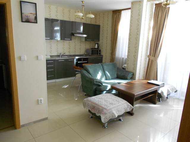 Luxury 2 Bedrooms Apartment with Pool access