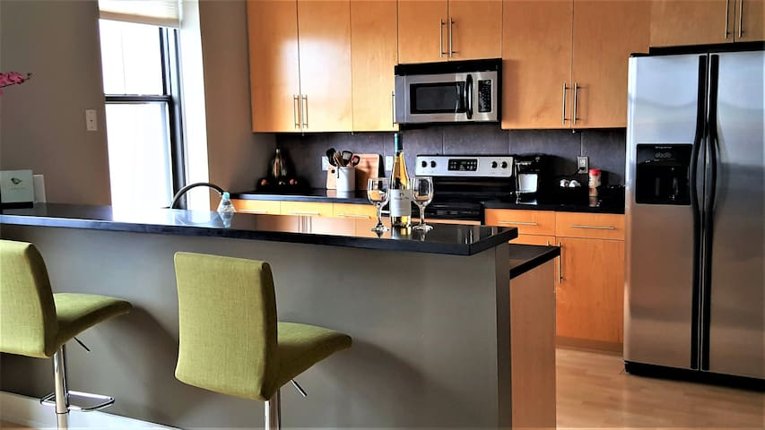 Beautiful Condo in Heart of Downtown Des Moines! - Des Moines - Wohnung