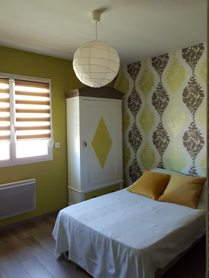 chambre privée 2 chez particulier
