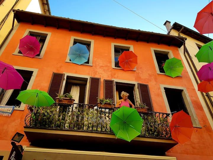 Appt in medieval town  Castelnuovo di Garfagnana