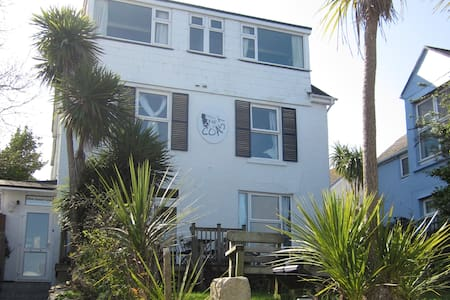 Bell Heather Double Room at Coast B&B - Carbis Bay - Bed & Breakfast - 1