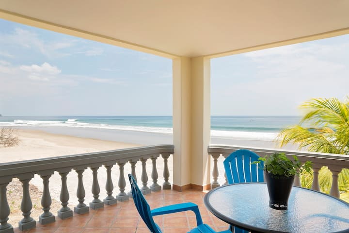 Affordable Beachfront with view of Surf.