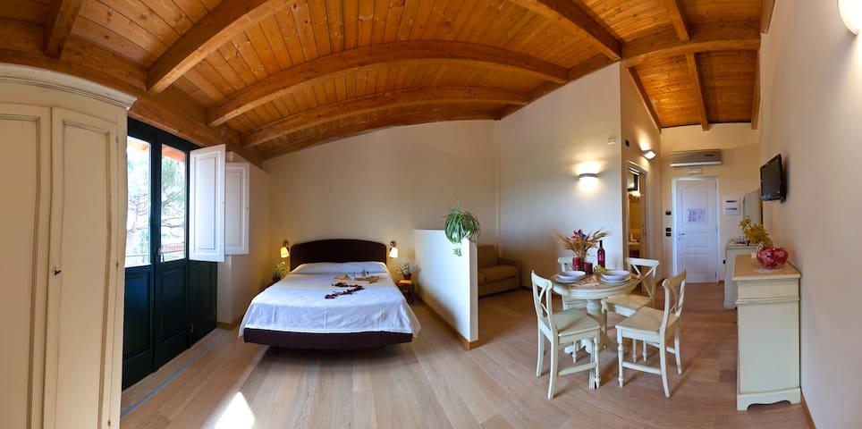 Monolocale in agriturismo 4 persone - Montecorvino Pugliano - Apartment