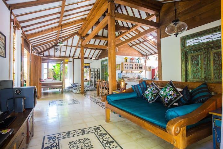 Big space-Villa 2BR-Private Pool-Tropical Garden