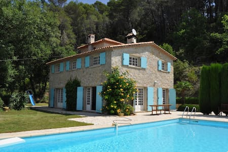Comfortable villa with complete privacy and pool - Figanières